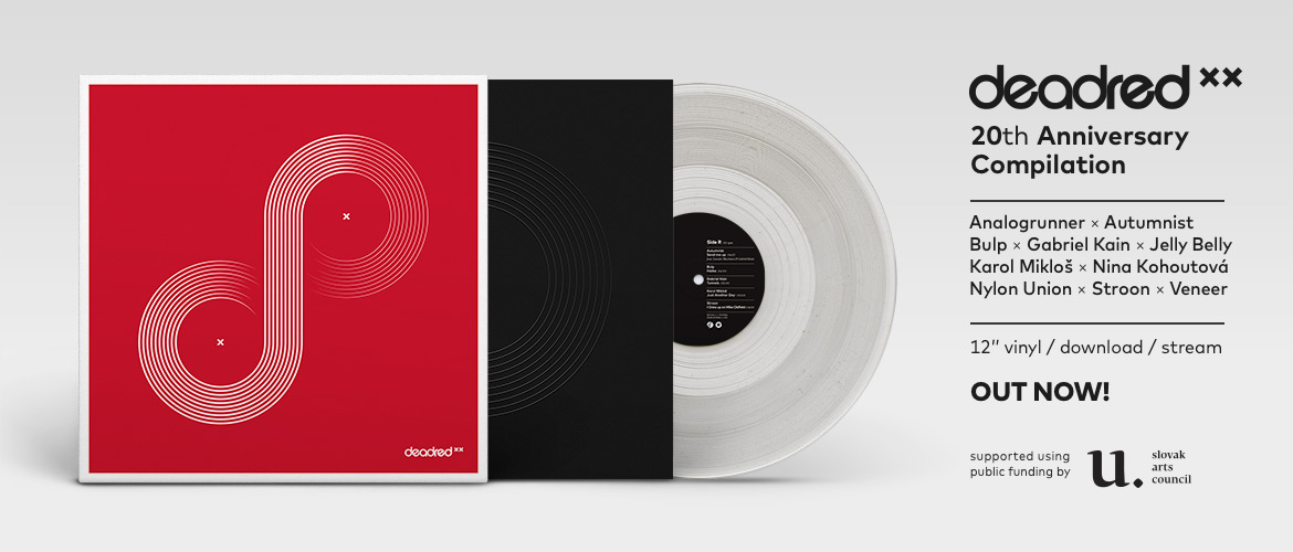 Deadred XX (compilation, limited clear vinyl, out now)