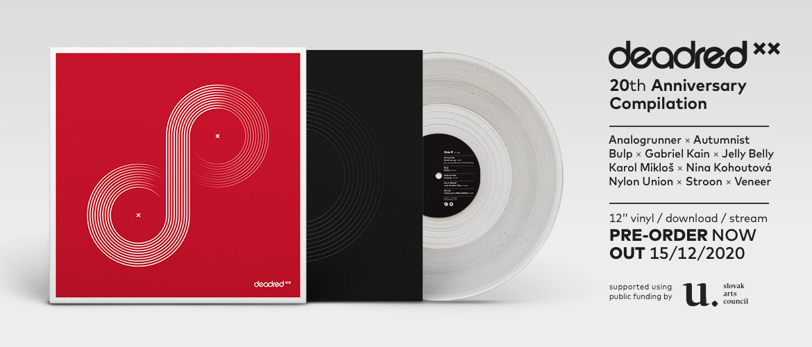 Deadred XX (compilation, limited clear vinyl, pre-order)
