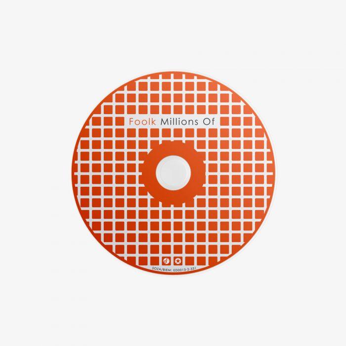 Foolk – Millions Of (Compact Disc, Digipak)