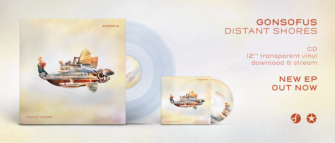Gonsofus - Distant Shores (CD, vinyl, digital)