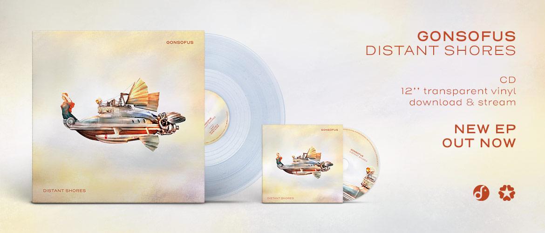 Gonsofus - Distant Shores (CD, vinyl, digital)