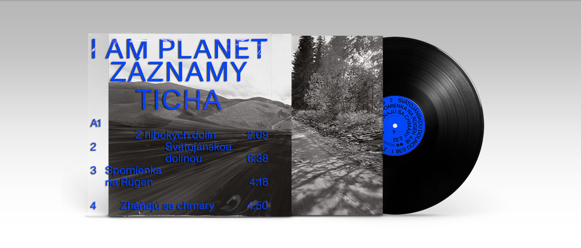 I Am Planet - Záznamy ticha (album, vinyl, digital)