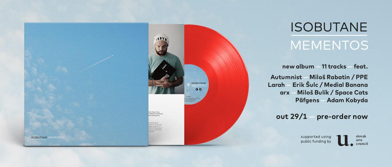 Isobutane - Mementos (vinyl, pre-order)