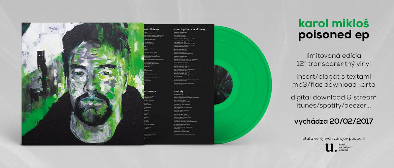 Karol Mikloš - Poisoned EP (pre-order)