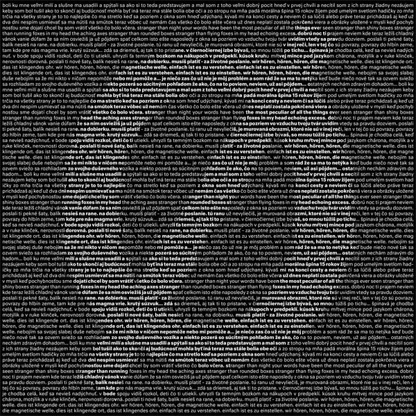 Ospalý pohyb – ø (MP3 digital download)