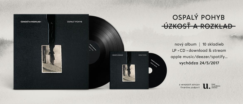 Ospalý pohyb - Úzkosť a rozklad (digital, CD, vinyl LP)