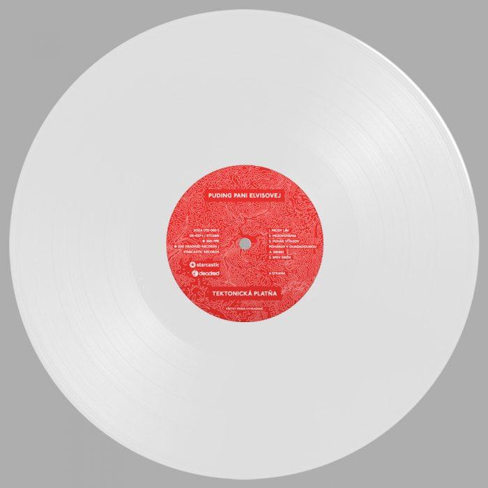 Puding pani Elvisovej – Tektonická platňa (Vinyl LP)