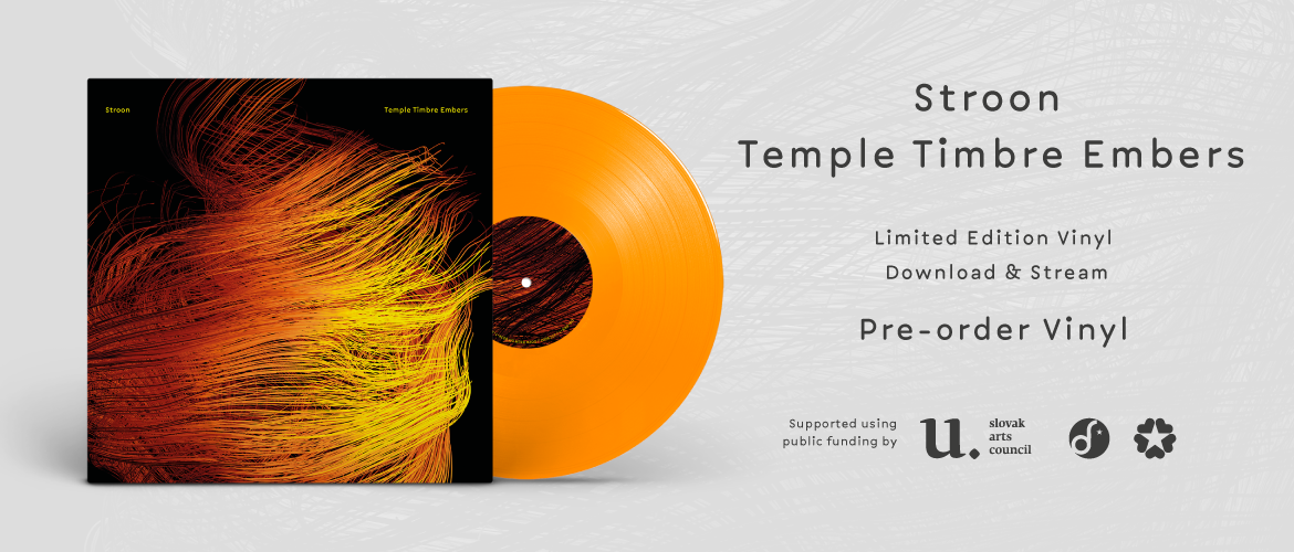 Stroon - Temple Timbre Embers (album, vinyl, pre-order)