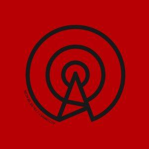 Autumnist - False Beacon (print detail, red-black)
