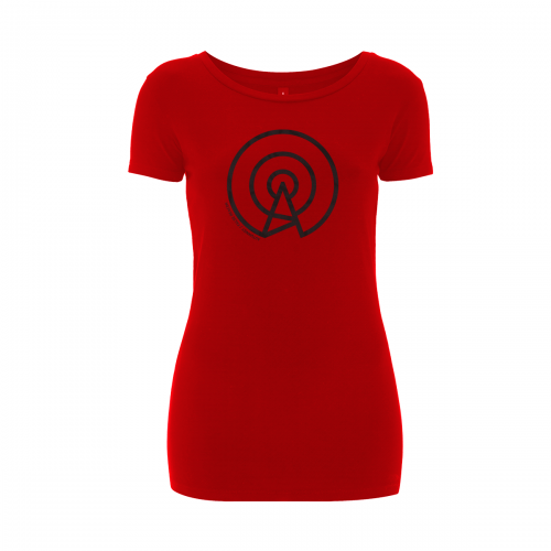 Autumnist - False Beacon (T-Shirt, Women, Red - Black)