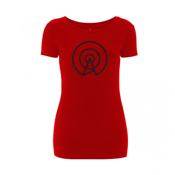 False Beacon (Women T-Shirt, R-B)