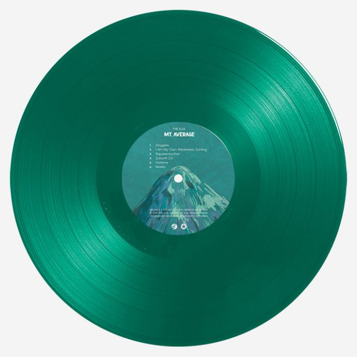 The Ills - Disco Volante/Mt. Average (vinyl, translucent/green)